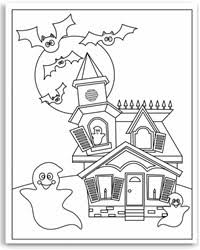 Colouring Pages Halloween Free