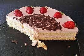 einfache erdbeer sahne torte
