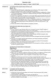Senior Human Resources Generalist Resume Samples | Velvet Jobs Human Resource Generalist Resume Sample Best Of 8 9 Sample Resume Of Hr Colonarsd7org Free Templates Rources Mplate How To Write A Perfect Hr Mintresume Senior For 13 Samples Velvet Jobs Professional Image Name Nxrnixxh Problem Consultant