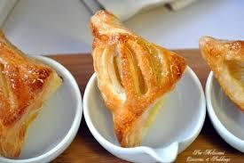 dessert a base de compote de pommes chaussons à la compote de pommes pâte feuilletée couscous et