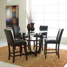 Solid Wood Oval Design Dining Set