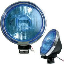 100 Truck Spotlights Car Blue Halogen Fog Spot Light Led Lamp Lights