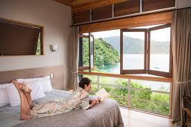 100 One Bedroom Interior Design Luxury 1brm Stay Marlborough Sounds NZ Bay Of Many Coves