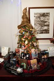 Harry Potter Themed Christmas Tree