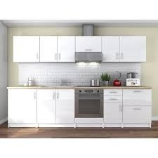 cuisine blanc laqué pas cher cuisine complete blanc laque achat vente pas cher