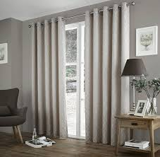 Thermal Lined Curtains Australia by One Pair Of Harlow Eyelet Header Thermal Curtains In Teal Size