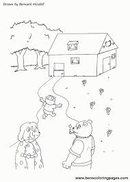 Printable Coloring Pages For Goldilocks And The Three Bears
