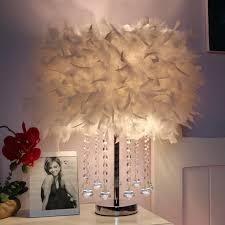 a1 kreative aromatherapie kristall feder le schlafzimmer tisch le geburtstag hochzeit einfache kleine zl351