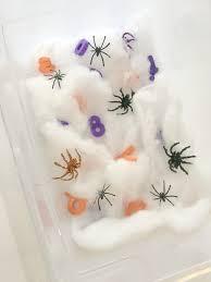 Preschool Halloween Spider Books by 6 Simple And Fun Halloween Sensory Buckets Live Love Mess