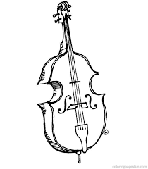 Musical Instruments Coloring Pages 55