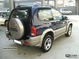 2001 suzuki grand vitara 1 6i 16v cat 3 porte car photo and specs