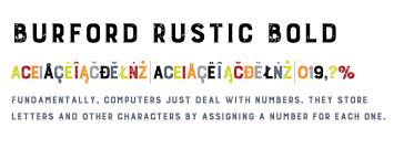 Burford Rustic Std Bold