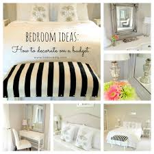 Love This White On Great Budget Bedroom Decorating Ideas Create A Designer Room Thrift Store