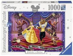 DISNEY MEMORIES BEAUTY AND THE BEAST 1000 PIECE RAVENSBURGER PUZZLE
