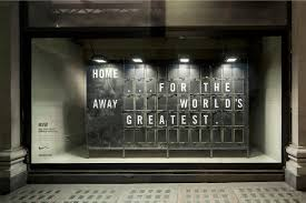 Wonderful Nike Window Displays That Interact With Passers By