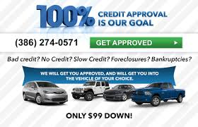 100 Truck Loans Bad Credit Car Dodge Jeep Financing Near Palm Coast FL