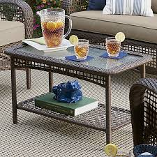 Ty Pennington Patio Furniture Parkside by Grand Harbor Prairie Hill Coffee Table Limited Availability