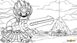 Coloring Pages Lego Chima Legends Of Free Printable