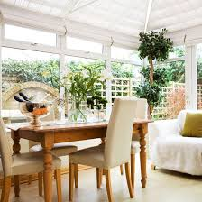 Fresh Conservatory Living Space