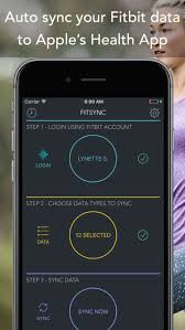 Sync for FitBit Fitbit to Apple Health on the App Store