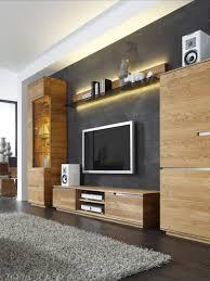 wohnwand aus massivholz wohnzimmerwand wohnen wohnzimmer