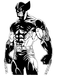 Cool Wolverine From X Men Comic Coloring Page