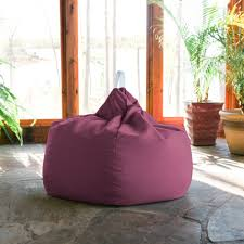 Kiss Outdoor Patio Bean Bag Chair - Iris