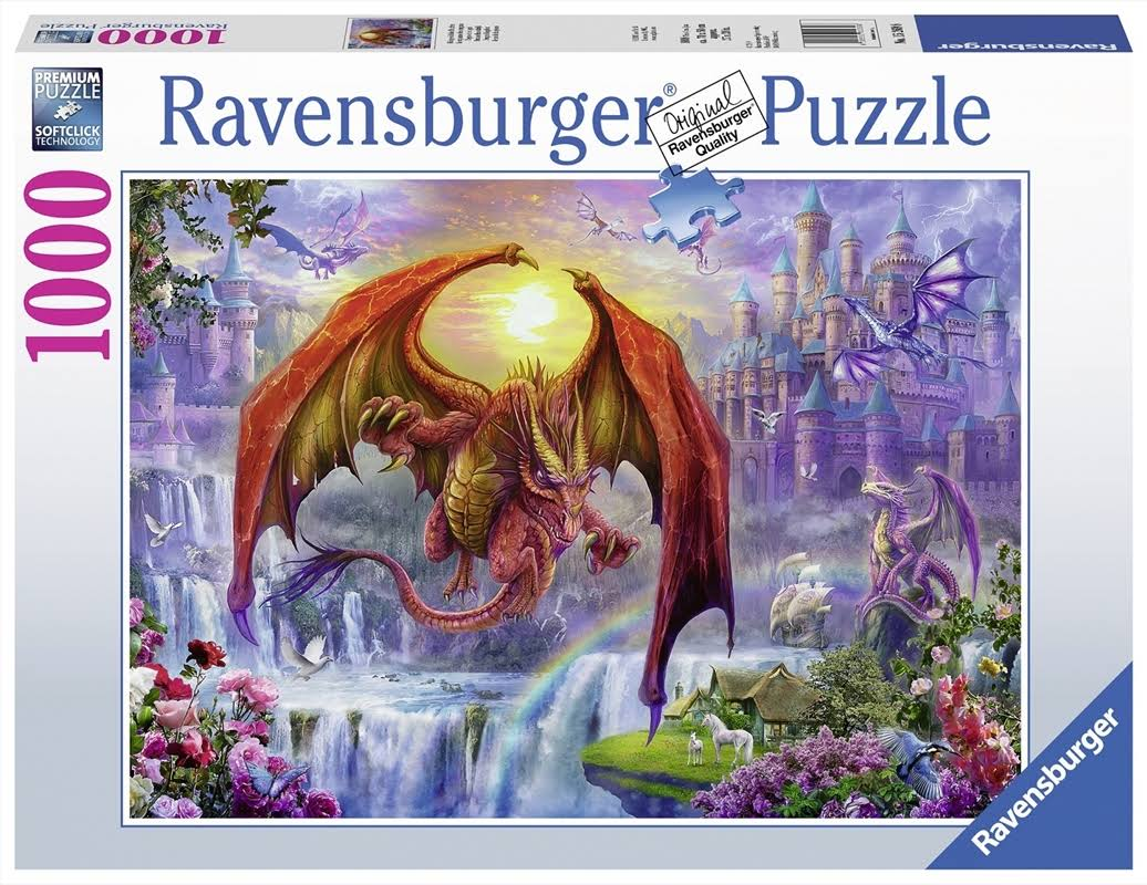 Ravensburger Dragon Kingdom 1000 Piece Puzzle