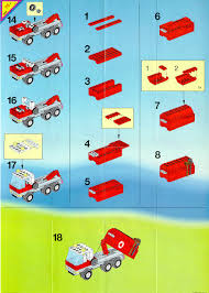 100 Lego Recycling Truck LEGO 6668 Recycle Instructions City