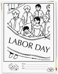 Labor Day Coloring Pages Seasonal Colouring