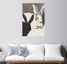 posterlounge wandbild kaninchen premium druck auf fotopapier kaufen otto
