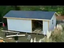 how to build your own shed with free shed plans 2012 youtube