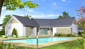 plan de maison moderne iris maison en u
