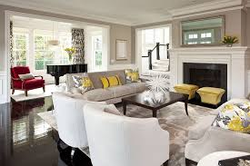 ranch style home interior living room transitional with cocktail