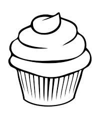 Cupcake Coloring Page Az Coloring Pages