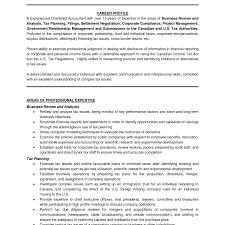 Accounting Resume Samples Canada