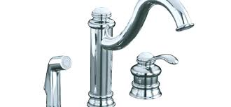 Kohler Fairfax Kitchen Faucet Brushed Nickel by Leaking Kohler Kitchen Faucet Base Room Image And Wallper 2017