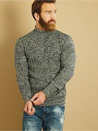 pull col montant homme kiabi