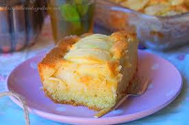 gâteau éponge aux pommes facile rapide aux delices du palais