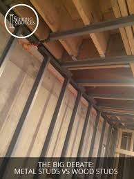 the big debate metal studs vs wood studs home remodeling