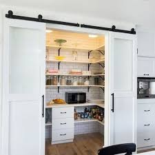 Rolling Barn Door Pantry — John Robinson House Decor : Functional ... Bedroom Closet Barn Door Diy Sliding For New Decoration Doors Asusparapc Single Ideas Double Home Design Bypass Hdware Unique Create A Look For Your Room With These I22 About Remodel Spectacular Designing Interior The Depot Barn Door Hdware Easy To Install Canada Haing Closet Doors Youtube Blue Decofurnish