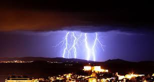 Lightning Storm Clouds Rain Thunder