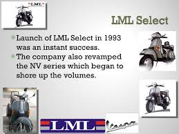 5 UlliLaunch Of LML Select