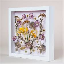 Diy Pressed Flower Wall Art Craft Design Ideas