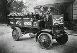 100 First Truck Ever Made Vintage Photos Of CocaCola Delivery S From Between The 1900s