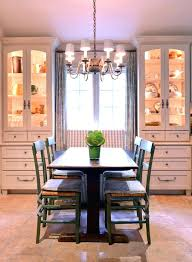 China Storage Ideas Dining Room Hutch Decorating Bright Convention Farmhouse Decoration