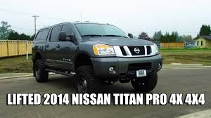 100 Nissan Trucks 2014 LIFTED NISSAN TITAN PRO 4X 4X4 YouTube