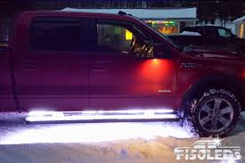 2009 - 2014 LED Running Board Lights - F150LEDs.com Westin Suregrip Running Boards Fast Free Shipping Hdx Xtreme Black Teach Me Pickup Truck Offtopic Discussion Forum Tac 4 Oval Side Step For 092018 Dodge Ram 1500 Quad Cab Cheap What Are On A Find Learn About Slimgrip From Luverne Luverne Grip Autoaccsoriesgaragecom Ford F250 Lariat Crew Board Lift Youtube 62 3 Functions Full Led Bar Lights Parking Turn Iboard Steps Nissan Titan How To Install Running Boards On Dodge Ram