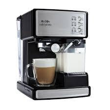 Mr Coffee Cafe Barista Espresso Maker Black Silver BVMC ECMP1000