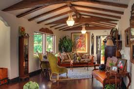 Living Room With Fireplace by Spanish Style Living Room With Fireplace Spanish Style Home
